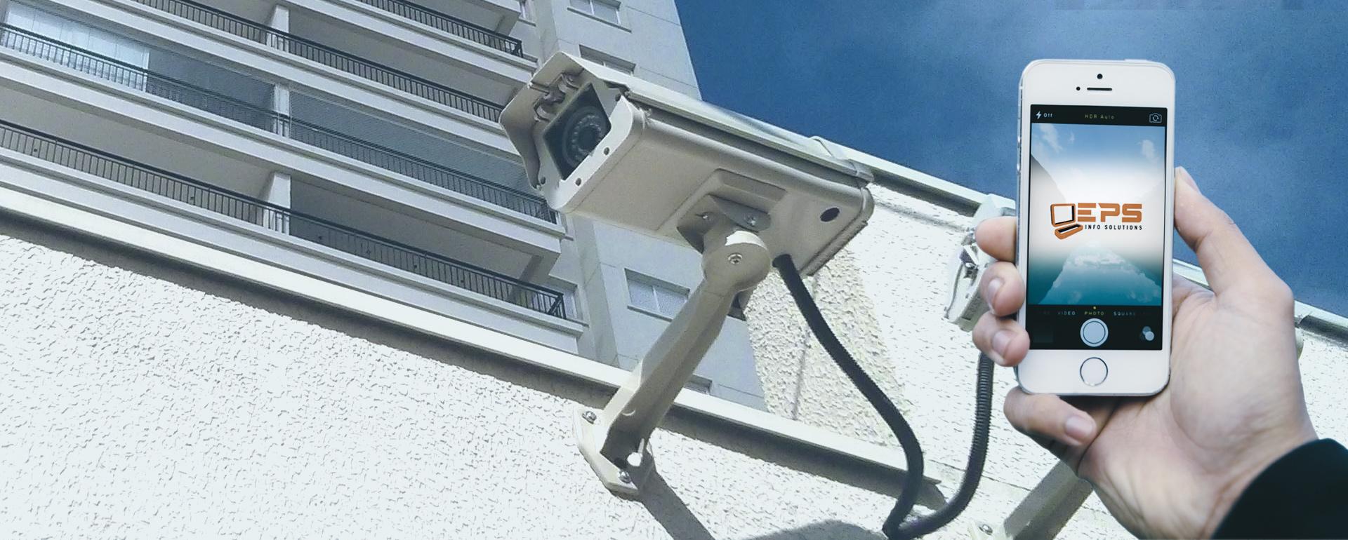 CFTV, alarmes, Interfones