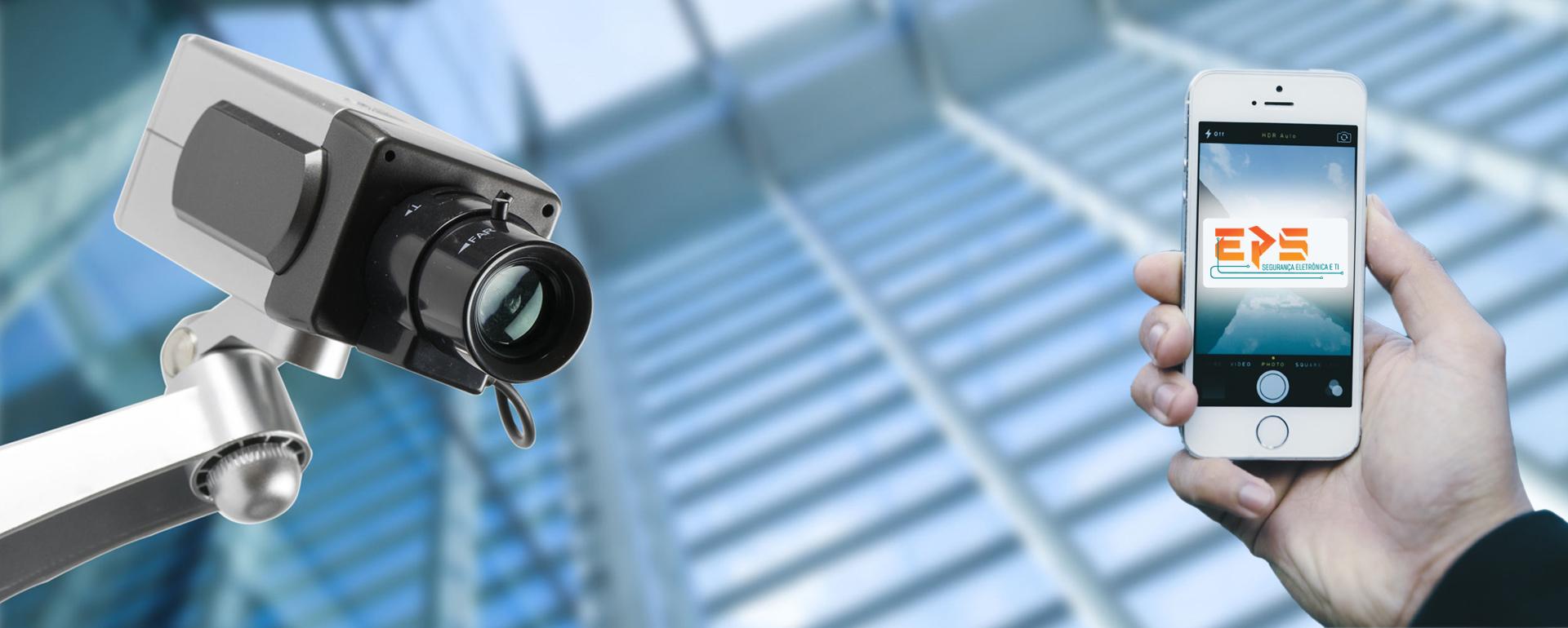 Sistema CFTV para condomínios
